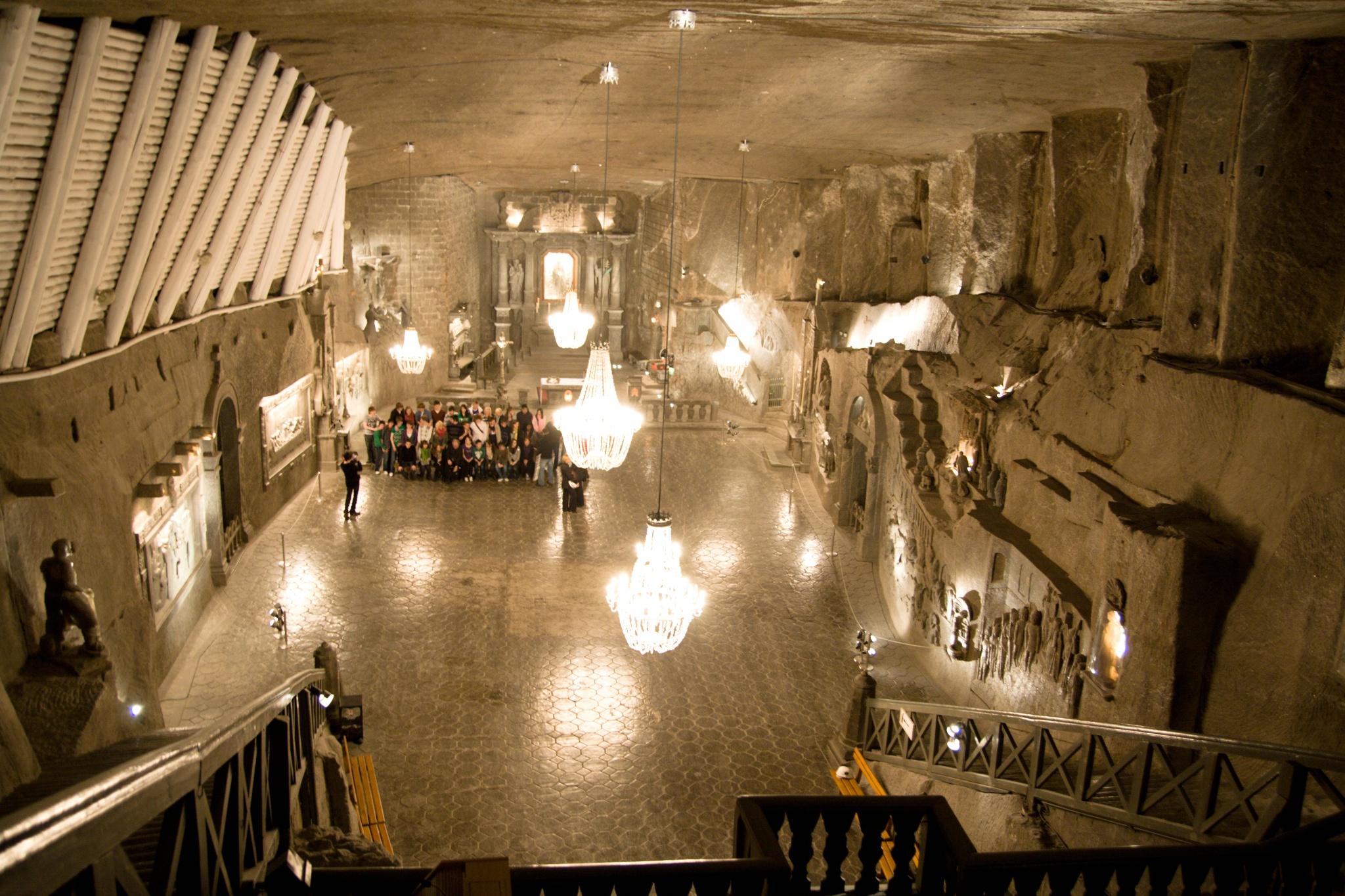 Solná jeskyně Přeštice - Wieliczka