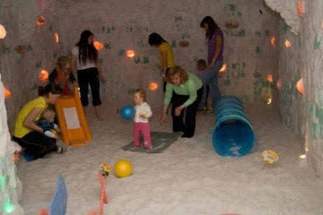 Solná jeskyně Přeštice - cvičeníčko